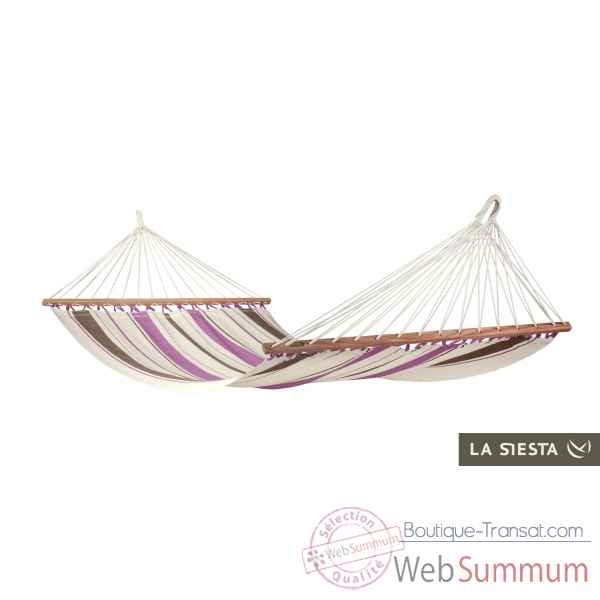 Hamac a barres simple colombien caribena purple La Siesta -CIR11-7