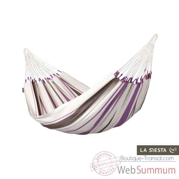 Hamac simple colombien caribena purple La Siesta -CIH14-7