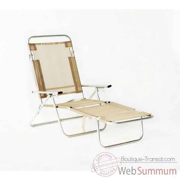 Achat de beige sur boutique transat - Chaise longue plage pliable ...