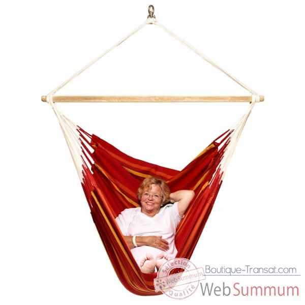Video Lounger Currambera La Siesta modele rouge -CUL21-2