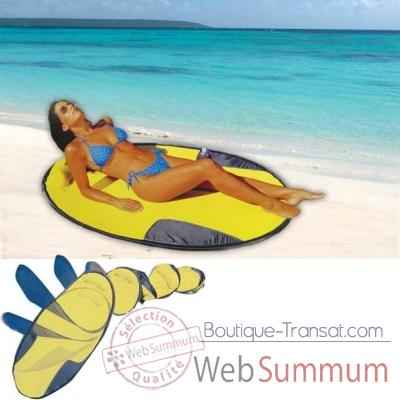 Video Matelas de plage Kelsyus colori jaune -11103