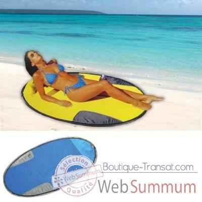 matelas de plage kelsyus colori bleu 11105 de transat. Black Bedroom Furniture Sets. Home Design Ideas
