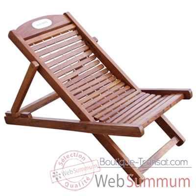 chaise transat farniente produits marins web summum web dans chaise longue interieur. Black Bedroom Furniture Sets. Home Design Ideas