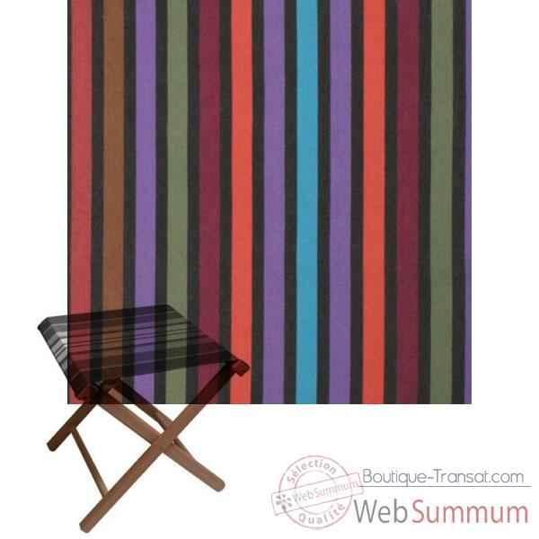 tabouret repose pied pliant artiga coton dans transat artiga sur boutique transat. Black Bedroom Furniture Sets. Home Design Ideas