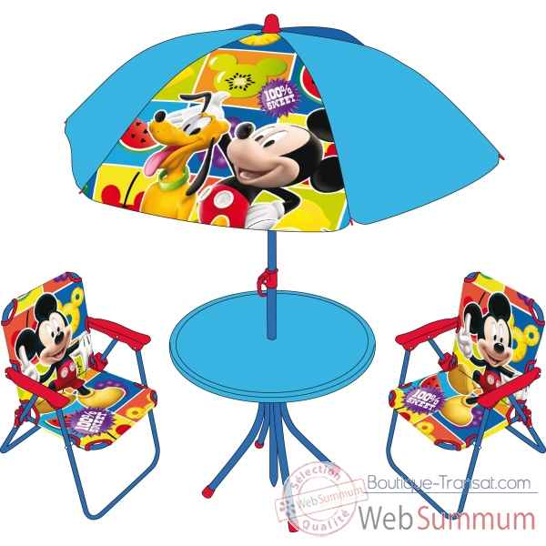 Set camping 4 pcs. mickey Room studio -707869