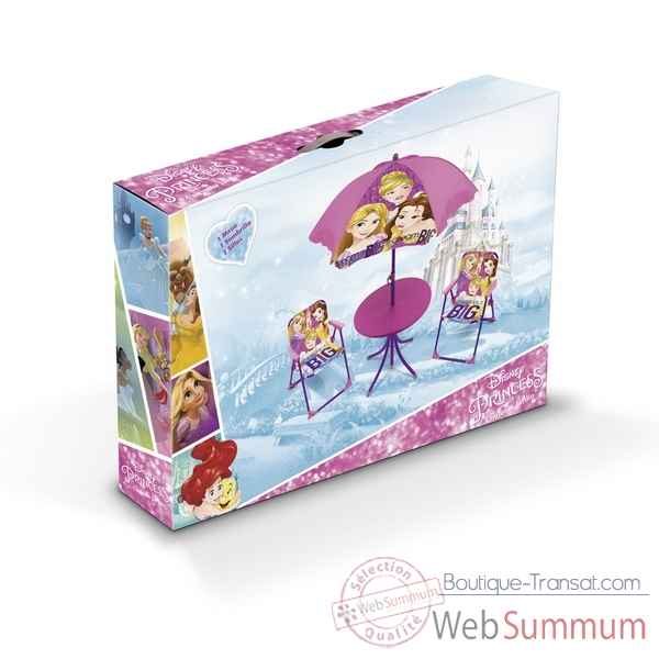 Set de camping disney princesses 4 pieces Room studio -709459