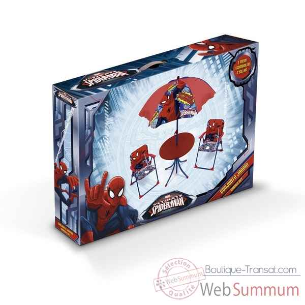 Set de camping spiderman 4 pieces Room studio -709463