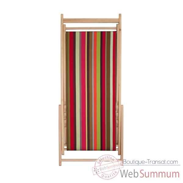 toile transat chilienne pr t poser feuillage tissage de luz sur boutique transat. Black Bedroom Furniture Sets. Home Design Ideas