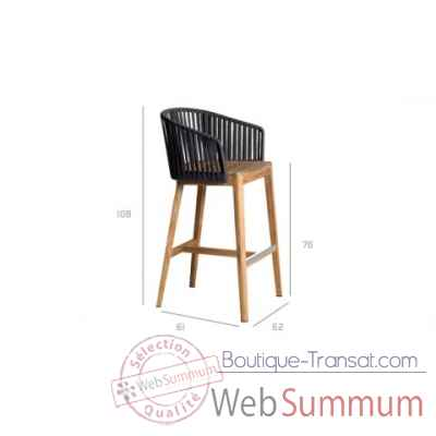 Mood tabouret de bar Tribu -Tribu67