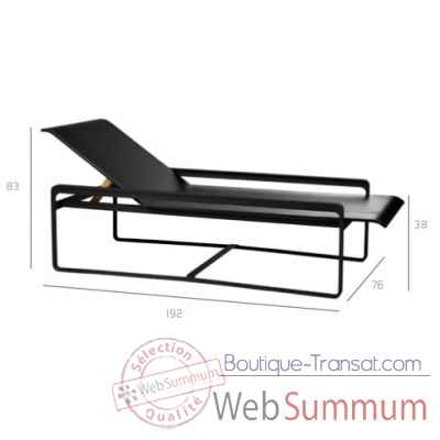 Neutra chaise longue Tribu -Tribu117