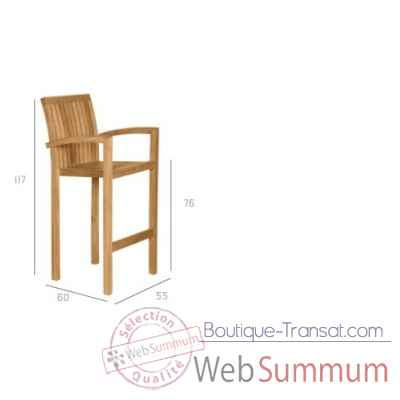 Pure tabouret de bar Tribu -Tribu153